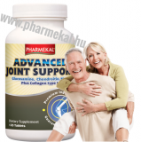 Pharmekal Advanced Joint Support - Glük/Kond/MSM/Kollagén 120 db