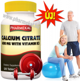 Kalcium CITRÁT 600 mg + K2 vitamin 120 db