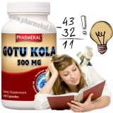 Pharmekal Gotu Kola 500 mg 100 db