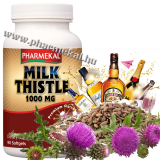 Milk Thistle - Máriatövis 1000mg 90db (Liver Support)
