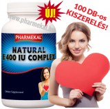Pharmekal NATURAL E 400 IU komplex 100 db